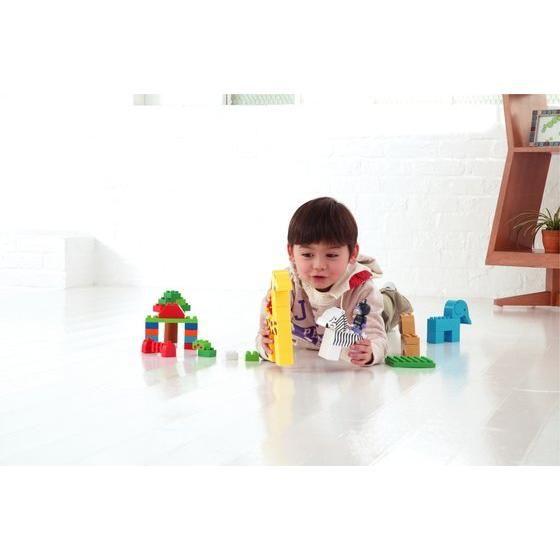 3歳〜のお子さまのブロック遊びを徹底的に研究。