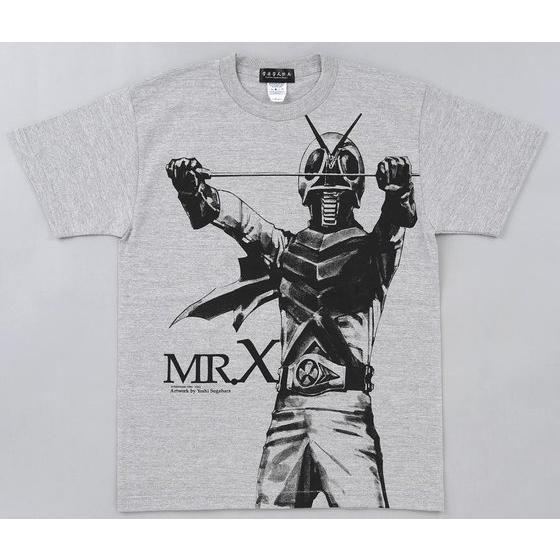 菅原芳人計画 仮面ライダーX Tシャツ