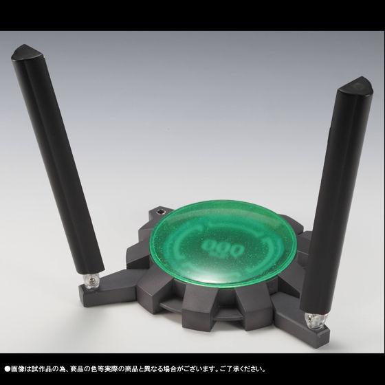 ROBOT魂<SIDE MS>ダブルオークアンタ(クアンタムバーストVer.) ブラックライト台座セット