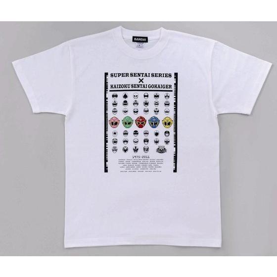 海賊戦隊ゴーカイジャー&歴代レッドTシャツ 大人用