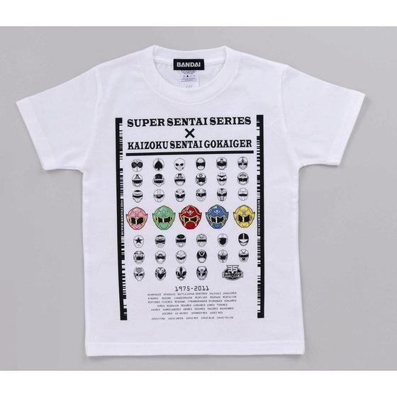 海賊戦隊ゴーカイジャー&歴代レッドTシャツ 子供用