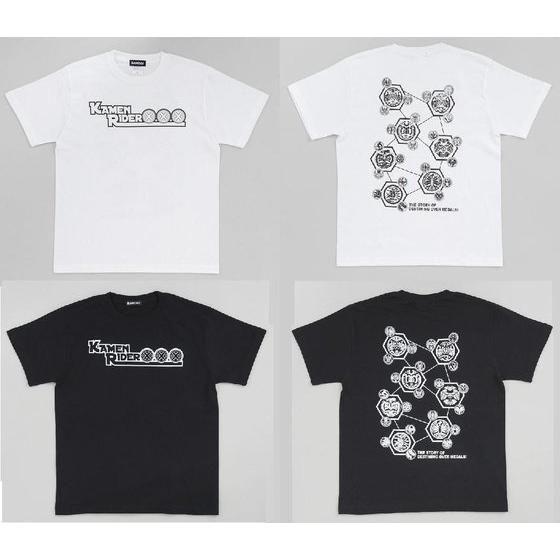 仮面ライダーオーズ オーメダル デザインTシャツ