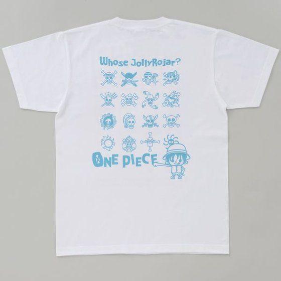 ワンピース×Panson Works Tシャツ 「誰の海賊旗?」柄