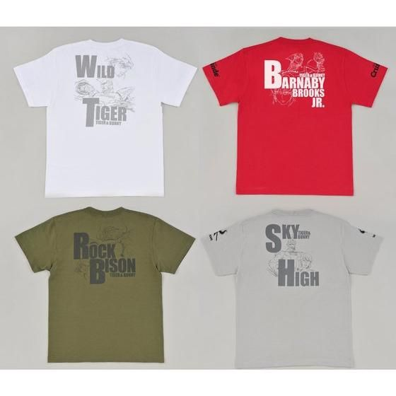 TIGER & BUNNY ヒーローTシャツ