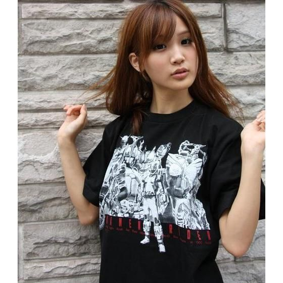 仮面ライダー40周年 菅原芳人計画仮面ライダーフォーゼ&平成仮面ライダーTシャツ