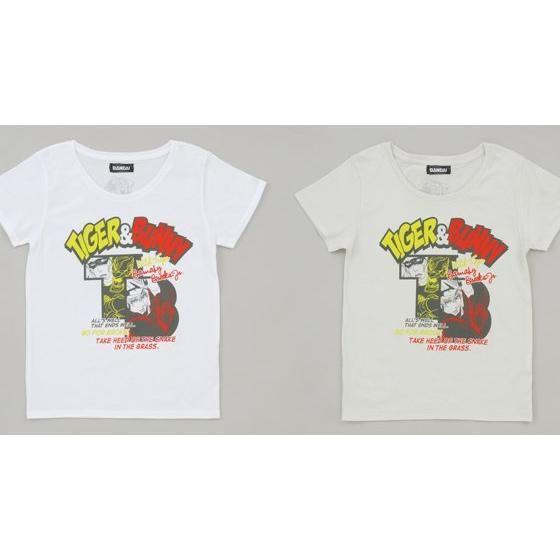 TIGER&BUNNYレディースTシャツ アメコミ風柄