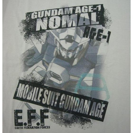 機動戦士ガンダムAGE Tシャツ ノーマルカラー柄