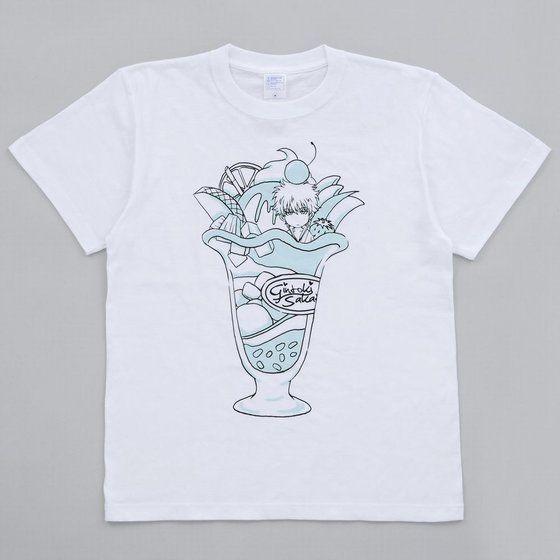 銀魂 Tシャツ 銀さんパフェ柄