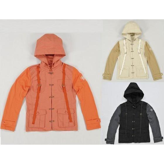 ウインドスケールFジャケット オレンジ、ベージュ、ブラック