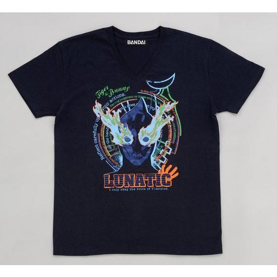 T & B ルナティック柄グラフィックTシャツ