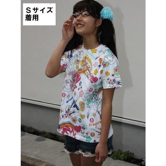 ハートキャッチプリキュア! 総柄Tシャツ(大人用)