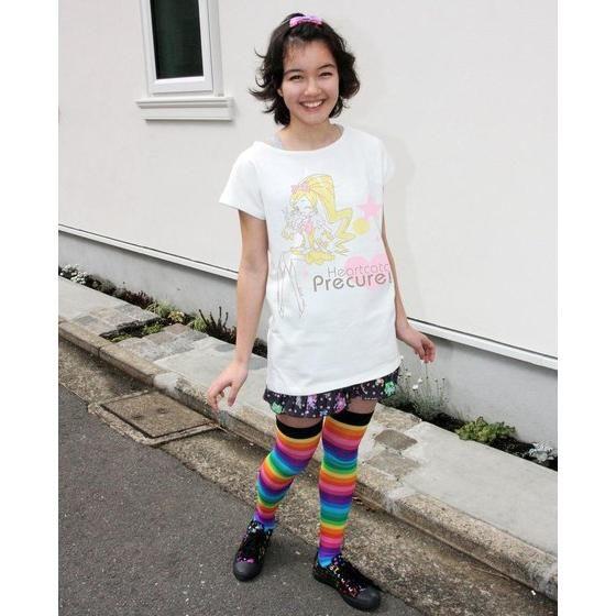 ハートキャッチプリキュア!レディースTシャツ キュアブロッサム(大人用)