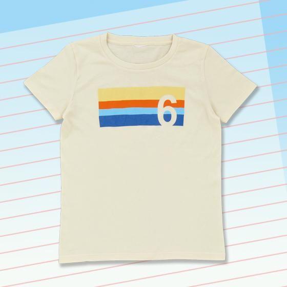 ももへの手紙 ももナンバーTシャツ