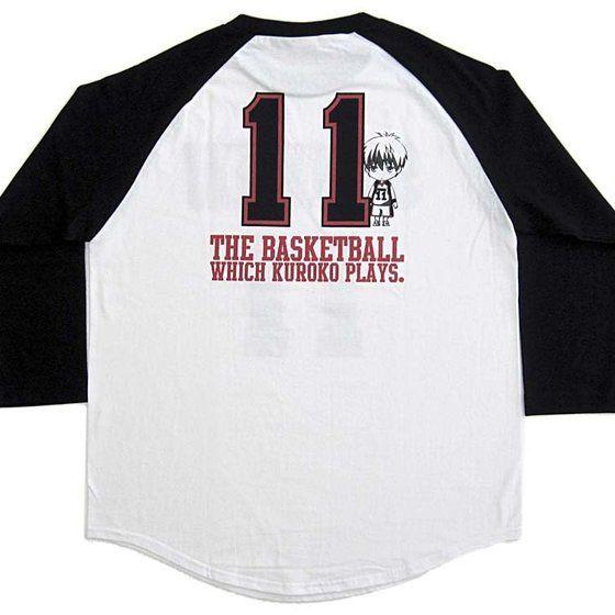 黒子のバスケ Tシャツ 黒子ユニフォーム柄
