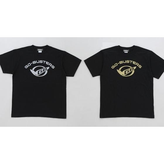【新色】特命戦隊ゴーバスターズ Tシャツ GBマーク柄