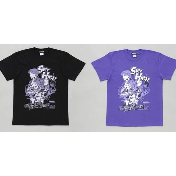 TIGER&BUNNY スカイハイ柄Tシャツ
