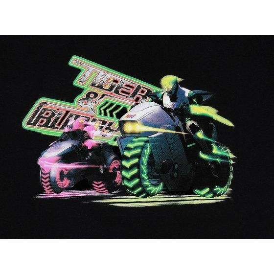 TIGER&BUNNY バイク柄Tシャツ