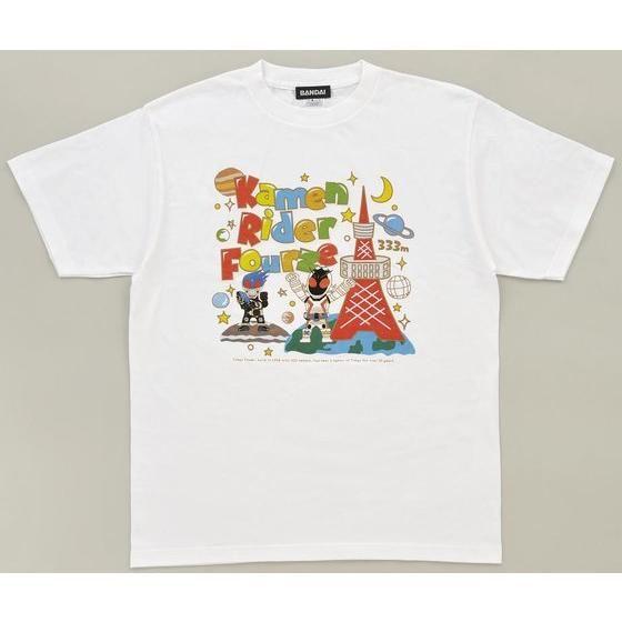 仮面ライダーフォーゼ×東京タワー Tシャツ S/M/L/XL