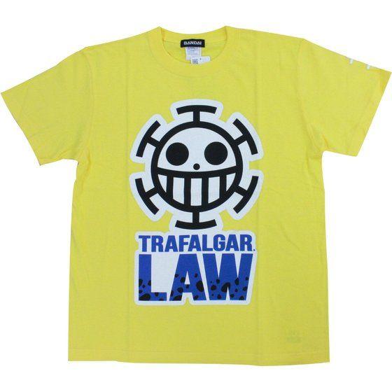 ワンピース Tシャツ トラファルガーロー柄