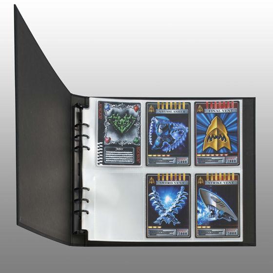仮面ライダーシリーズ カードアーカイブス対応バインダー