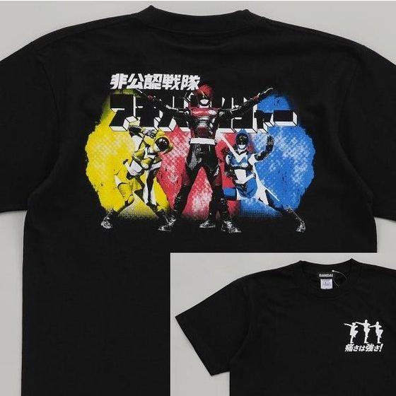 非公認戦隊アキバレンジャー 変身キメTシャツ