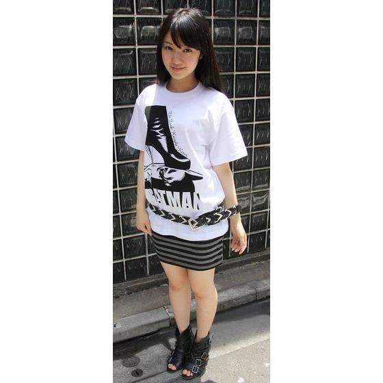 バットマン ダークナイトライジング バットマン&ハイヒールTシャツ(9月お届け)