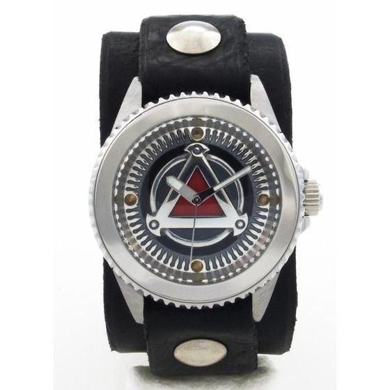 ��T<GARO>�`MAKAISENKI�`x red monkey designs Collaboration Wristwatch