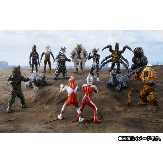 HGシリーズ ウルトラマン・ウルトラセブン怪獣コンプリート計画 完結セット