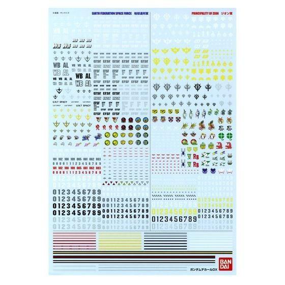 ガンダムデカールDX 01 【一年戦争系】(12月発送)