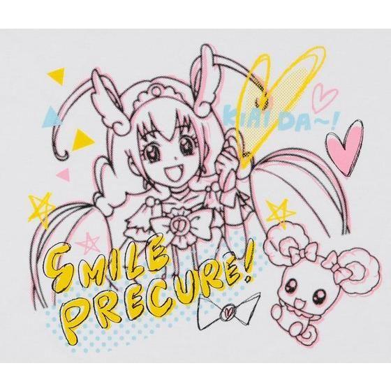スマイルプリキュア!キュアハッピー&キャンディ Tシャツ(大人用)