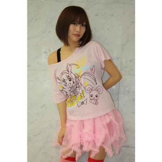 スマイルプリキュア!キュアハッピー&キャンディ ドルマンTシャツ