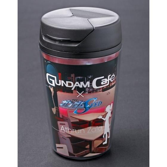 GUNDAM SEEDカフェスタッフVer.タンブラー&ランチョンマットセット
