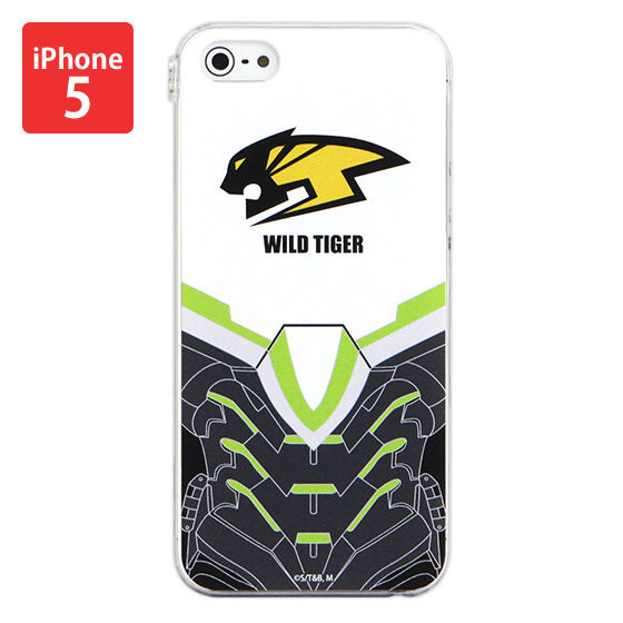 iPhone5&5s対応 ハードジャケット TIGER & BUNNY ワイルドタイガー