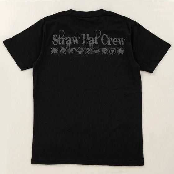 ワンピース Tシャツ 海賊旗ペイント風