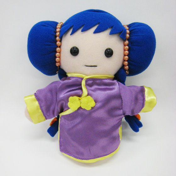 超時空要塞マクロス ミンメイ人形(紫チャイナドレス)