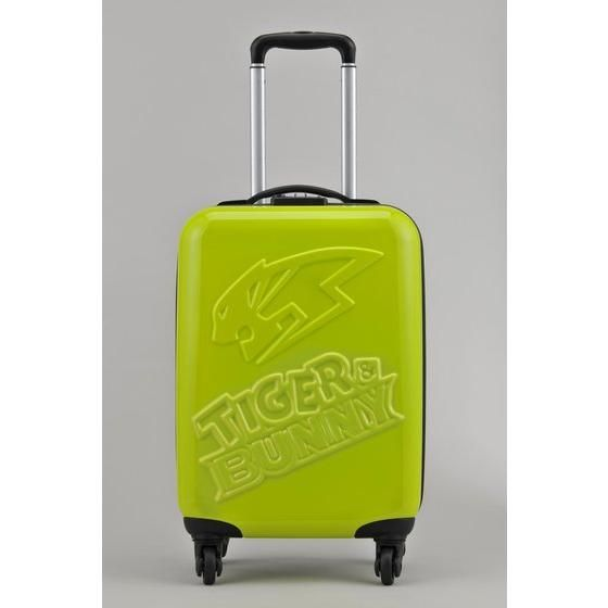 TIGER & BUNNY スーツケースH54cm TIGER(ライムグリーン) アニメ・キャラクターグッズ新作情報・予約開始速報