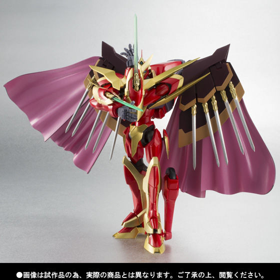 ROBOT魂 <SIDE KMF> ランスロット・グレイル