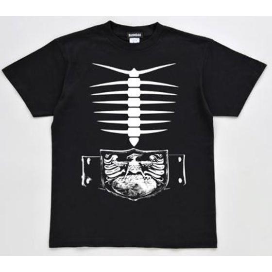 仮面ライダー ショッカー骨Tシャツ 120cm