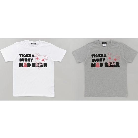 TIGER & BUNNY Tシャツ マッドベア柄