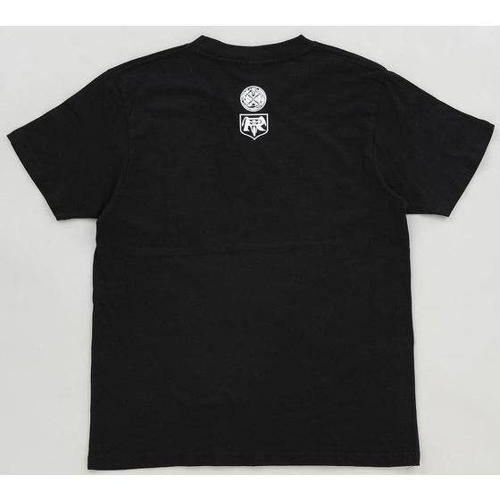 菅原芳人計画 マシンシリーズ 仮面ライダー1号 サイクロンTシャツ(仮面ライダー1号ウィザードリング付き)ブラック