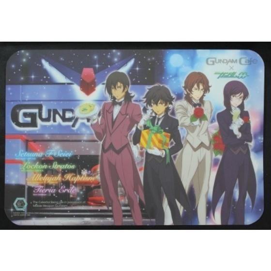 ガンダム00ランチョンマット Welcome to Gundam cafe