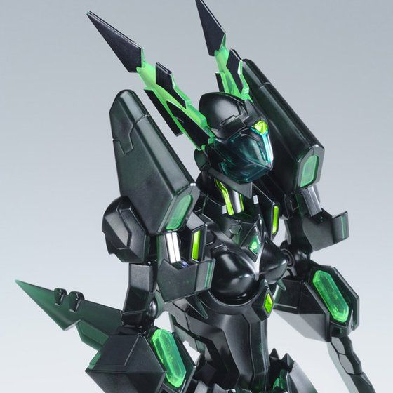【プレミアムバンダイ限定】FIGURE-RISE6 ブラック・ロータス オーバードライブ モード・グリーン