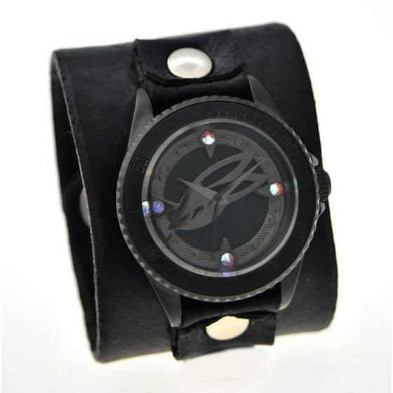 TIGER & BUNNY x red monkey designs Collaboration Wristwatch バーナビー・ブルックスJr. Black レディース