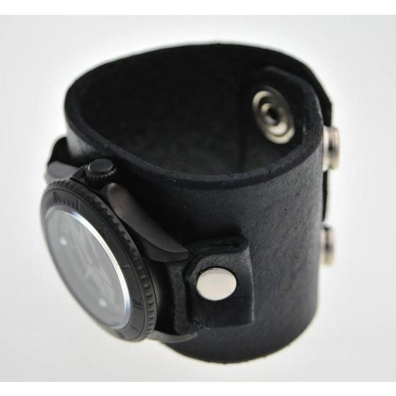 TIGER & BUNNY x red monkey designs Collaboration Wristwatch バーナビー・ブルックスJr. Black レディース