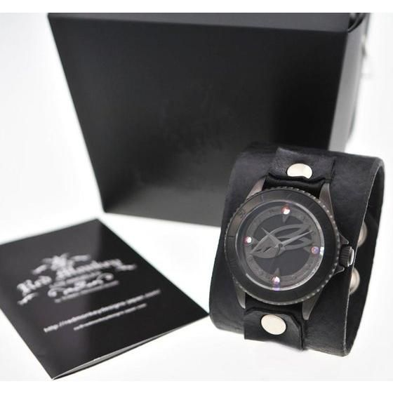 TIGER & BUNNY x red monkey designs Collaboration Wristwatch バーナビー・ブルックスJr. Black メンズ
