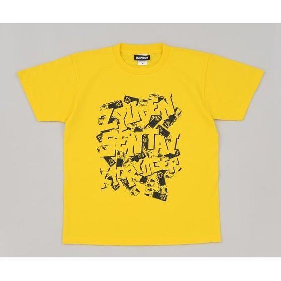 獣電戦隊キョウリュウジャー 獣電池柄Tシャツ(獣電池付き)