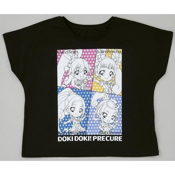 ドキドキ!プリキュア カード柄ドルマンTシャツ