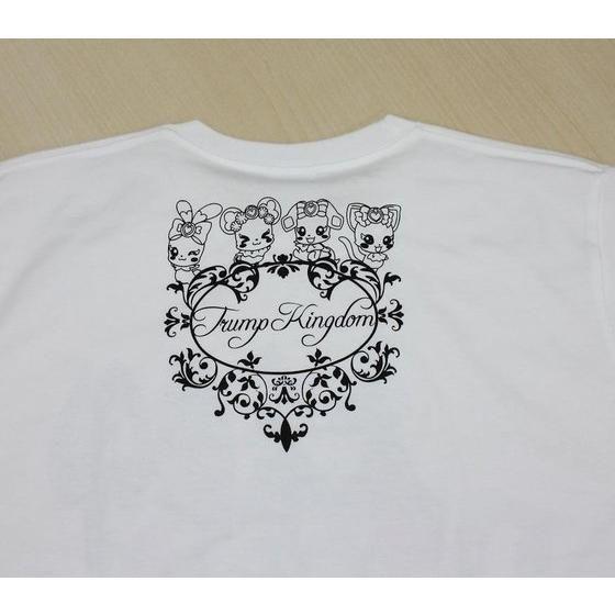 ドキドキ!プリキュア ロゴ柄Tシャツ 白