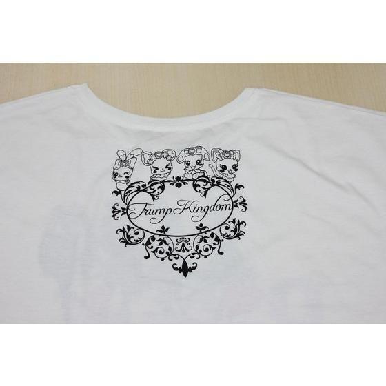 ドキドキ!プリキュア ロゴ柄 ドルマンTシャツ 白