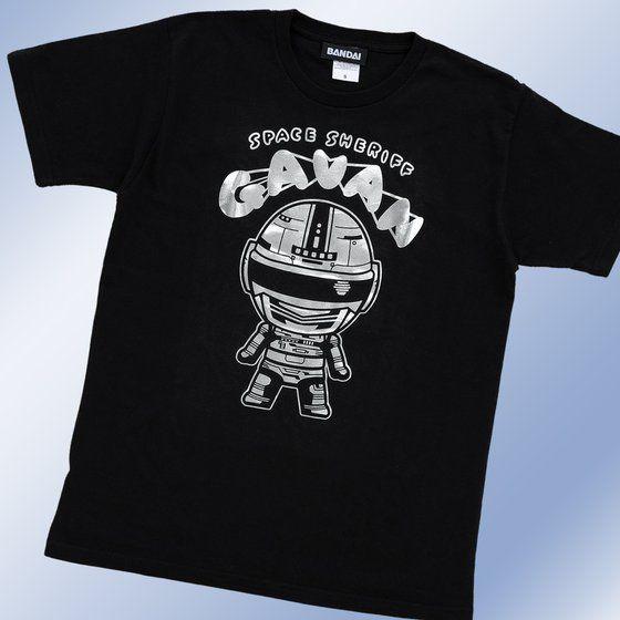 宇宙刑事ギャバン デフォルメTシャツ(銀箔)